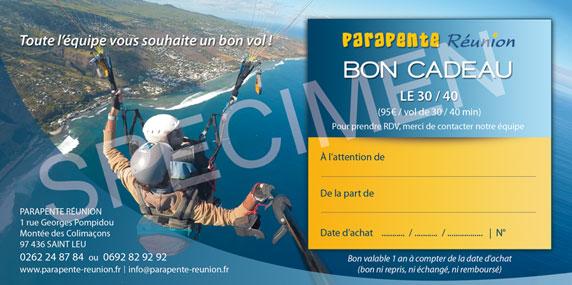 PARAPENTE_REUNION_bon_cadeau_SPECIMEN